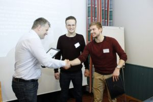 NTNU Ålesund students win prestigious automation engineering award on USVs for aqua farm inspection