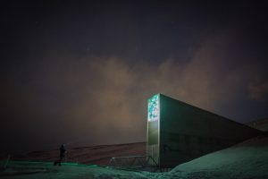 How does the Svalbard Global Seed Vault work?