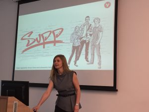 Dr Magdalena Lazarewicz, the leader of SUPP, sum up the new program.