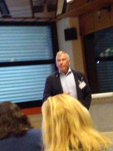 Professor Espnes at the European Public Health Conference in Vienna