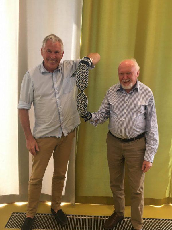 Professor Geir Arild Espnes and Professor Don Byrne