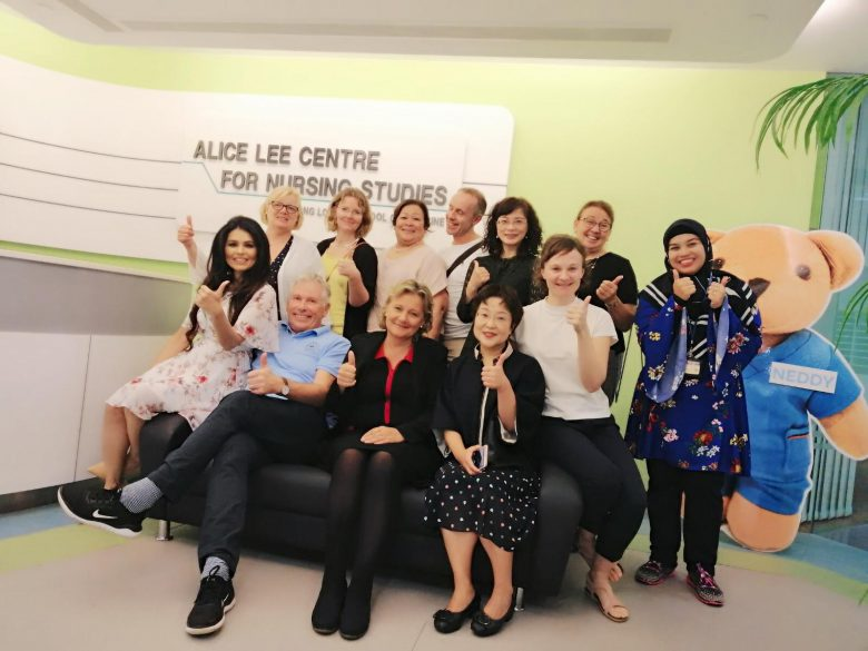 Research group from Alice Lee Center for Nursing Studies and NTNU Center for Health Promotion