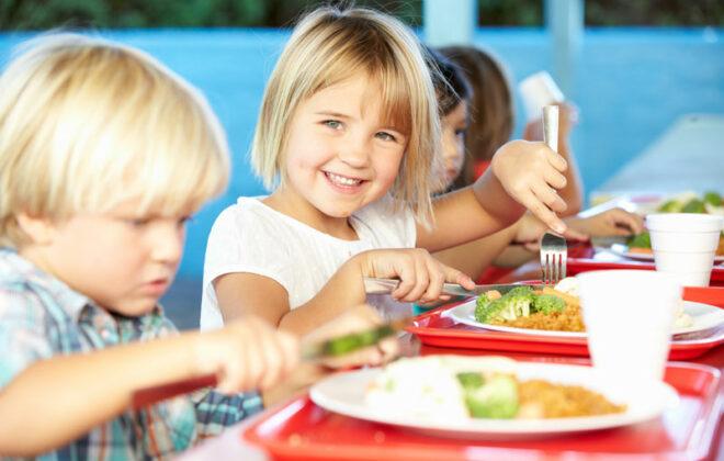 barn spiser mat