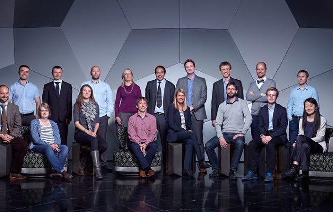 Gruppebilde av forskerne i stjerneprogrammet. Foto.
