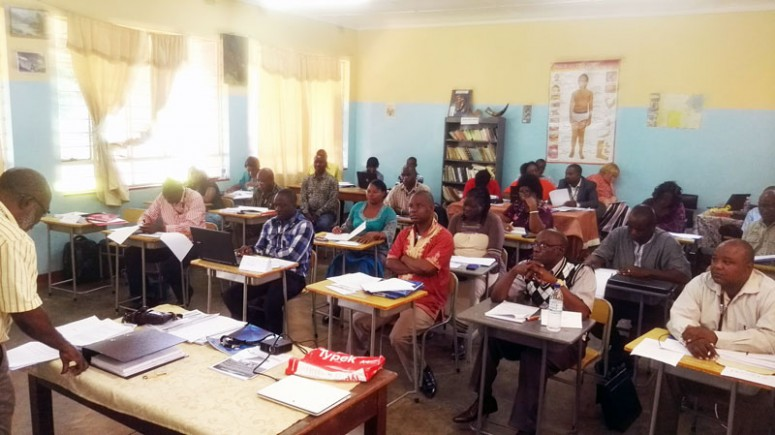Studentpresentasjoner i klasserom