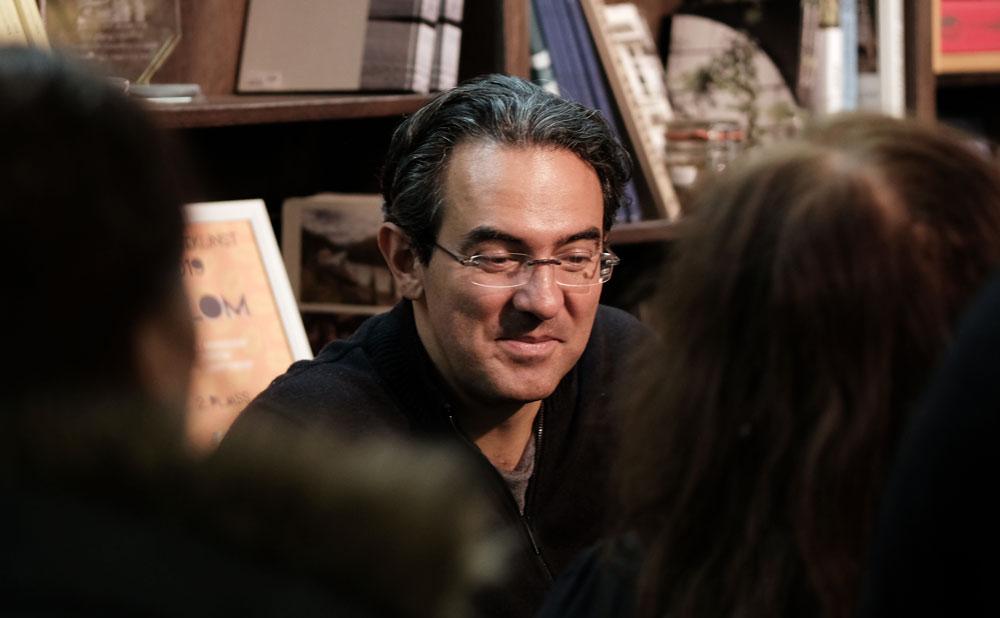 Portrett av Forfatter Juan Gabriel Vásquez