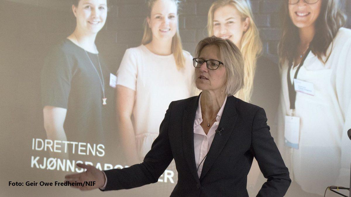 Karen Kvalevåg, generalsekretær i Norges idrettsforbund