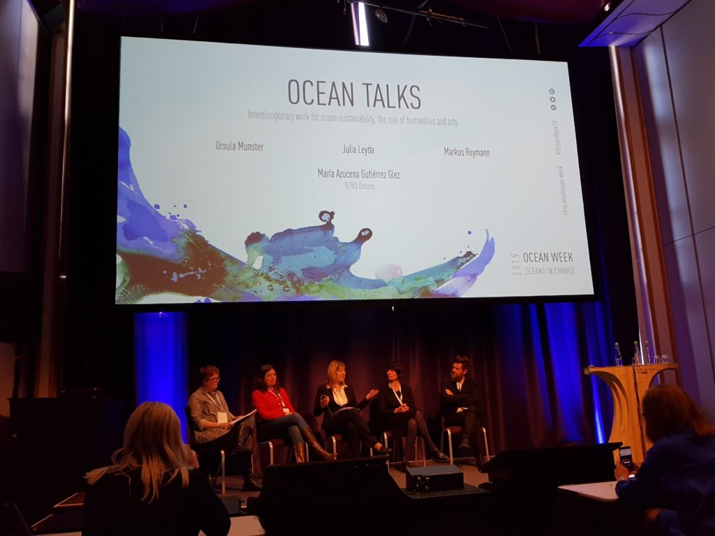Paneldebatt Ocean Talk under Ocean Week 2019