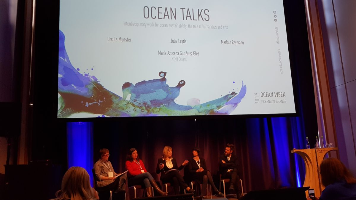 Paneldebatt under Ocean Week 2019