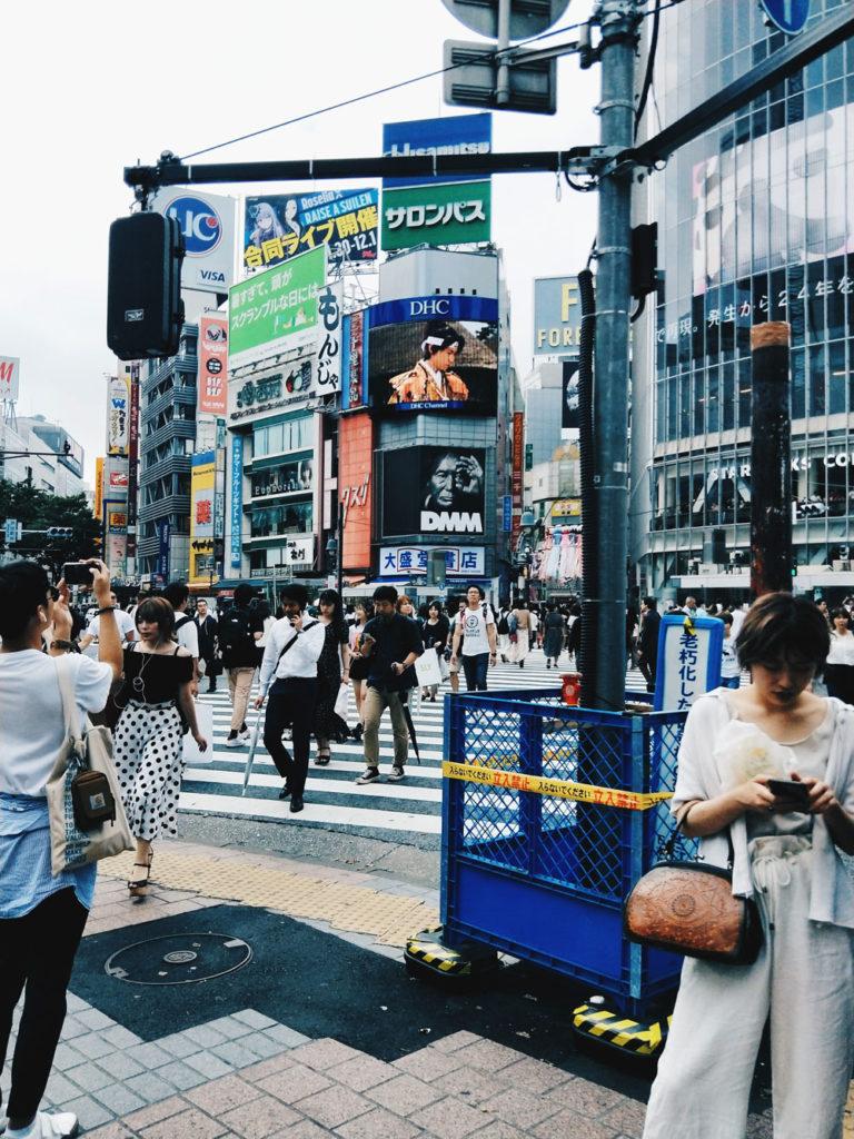 Famous crossings - Shibuya