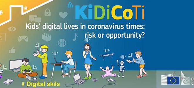 Logo for prosjektet KiDiCoTi. png