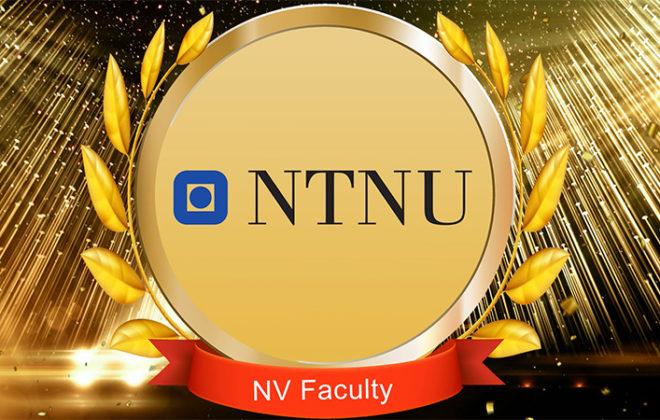 NV Faculty award presentation. Photo