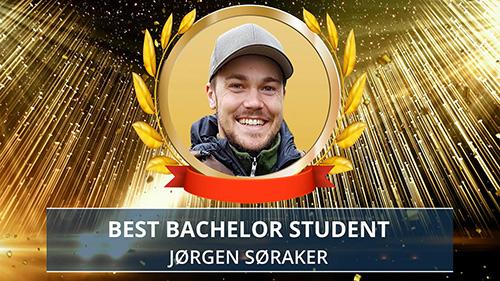 Jørgen Søraker award presentation. Photo