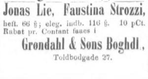 Bilde hentet fra Aftenposten desember 1875