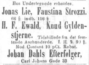 Bilde hentet fra Aftenposten desember 1875.