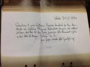 Aagaat Daaes katalog-brev1594