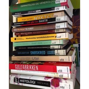 Bokstabel med nye bøker