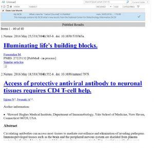 Skjermdump eksempel på e-postvarsel