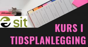 Illustrasjon med tittel i rosa, Sit logo og A-plan