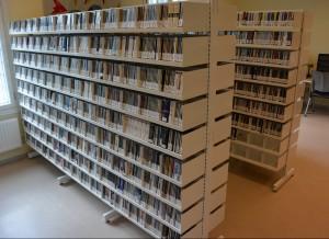 Musikkbibliotekets CD-samling