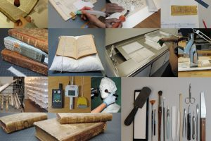 Book conservation at Kalvskinnet