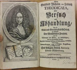 Gottfried Wilhelm Leibniz: Theodicaea oder Versuch und Abhandlung (1735)