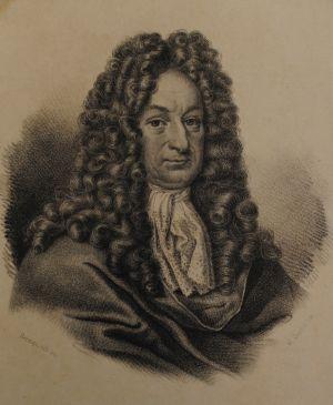portrett av Gottfried Wilhelm Leibniz