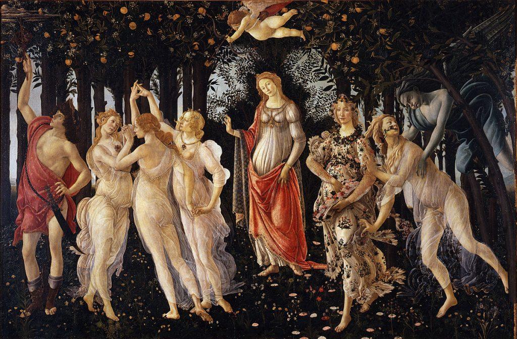 Botticelli's Primavera (c.1482)