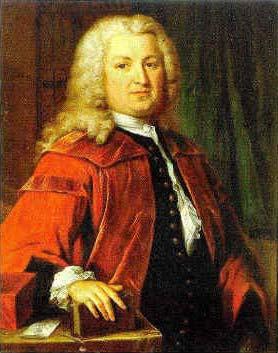 Albrecht von Haller, portrett