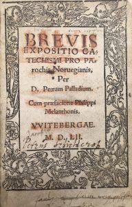 Tittelblad av Brevis expositio