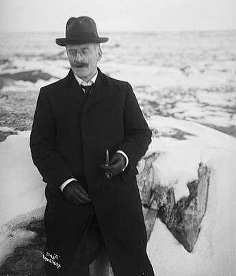 Knut Hamsun, foto av Anders Beer Wilse