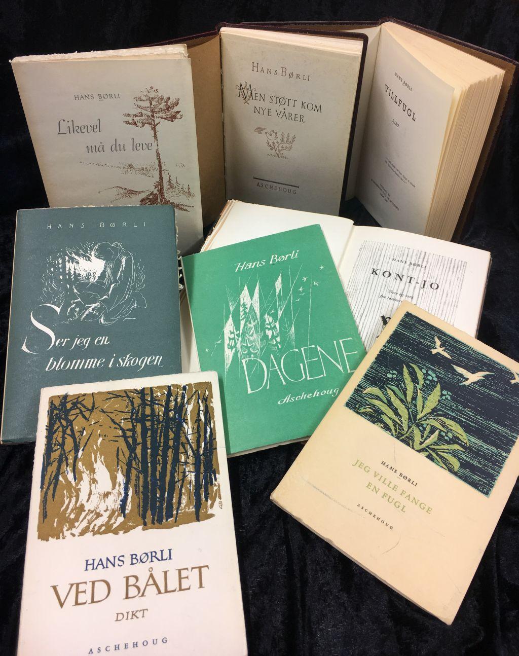 bøker diktbøker