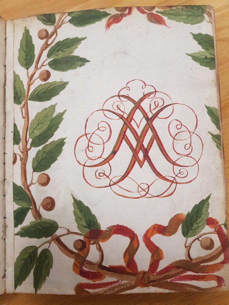 "Forside av ""Comoedia de Nativitate Salvatoris Christi"". Petrus Fossius. 1698."