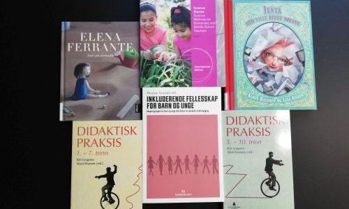 Nye bøker på Lysholmbiblioteket!