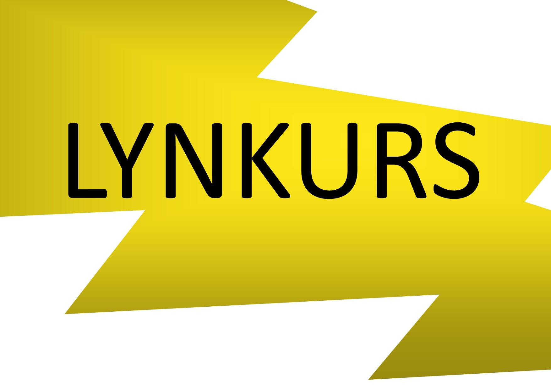Lynkurs på Øya høsten 2019
