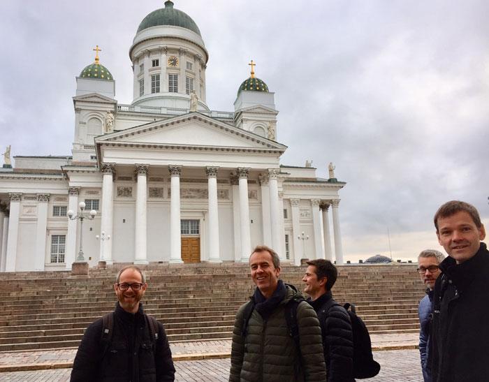 USSiT–Universitetsskolesamarbeidet i Trondheim på studietur til Helsingfors