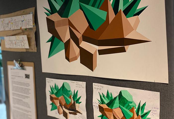 Ta turen til kalvskinnet og å få et innblikk i skapelsen av fremtidens kunst & håndverks lærere!