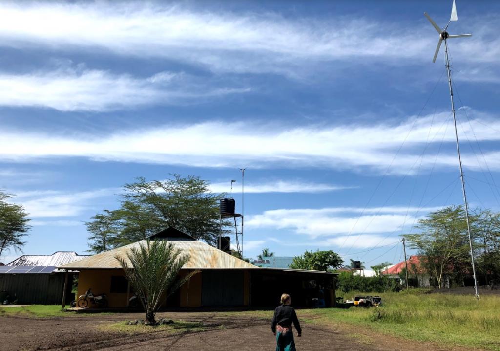 Vi dro til Tanzania for å koke ris med solvarme