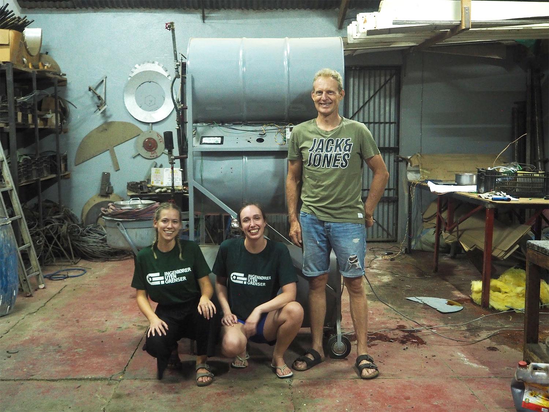 Solenergi til matlaging: Reisebrev fra Tanzania
