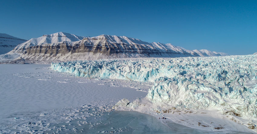 Drones Help Reveal the Secrets of Glacier Crevasses