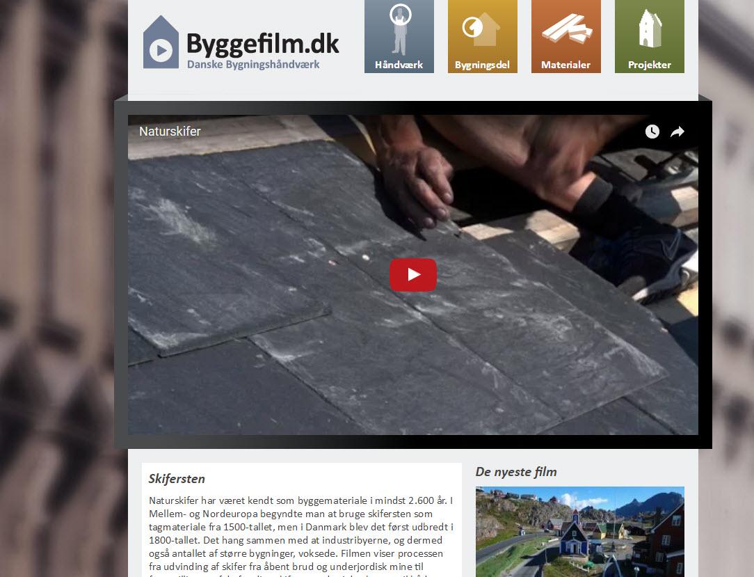 Videoer om bygningsvern og rehabilitering