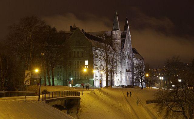 Hovedbygget på NTNU i Trondheim