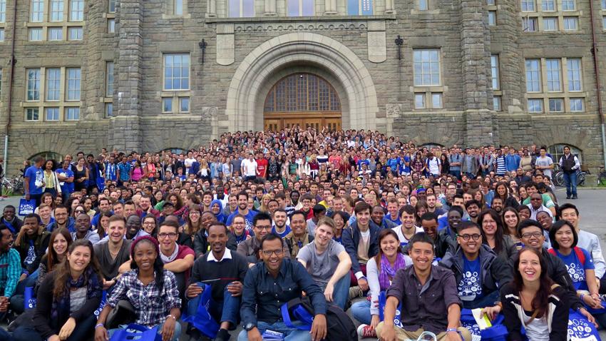 Immatrikulering, internasjonale studenter. Foto: NTNU