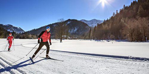 Illustrasjonsbilde skiløpere