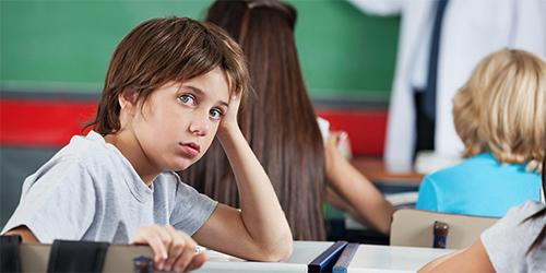 Skolebarn foto
