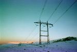 Photo: high-voltage power line
