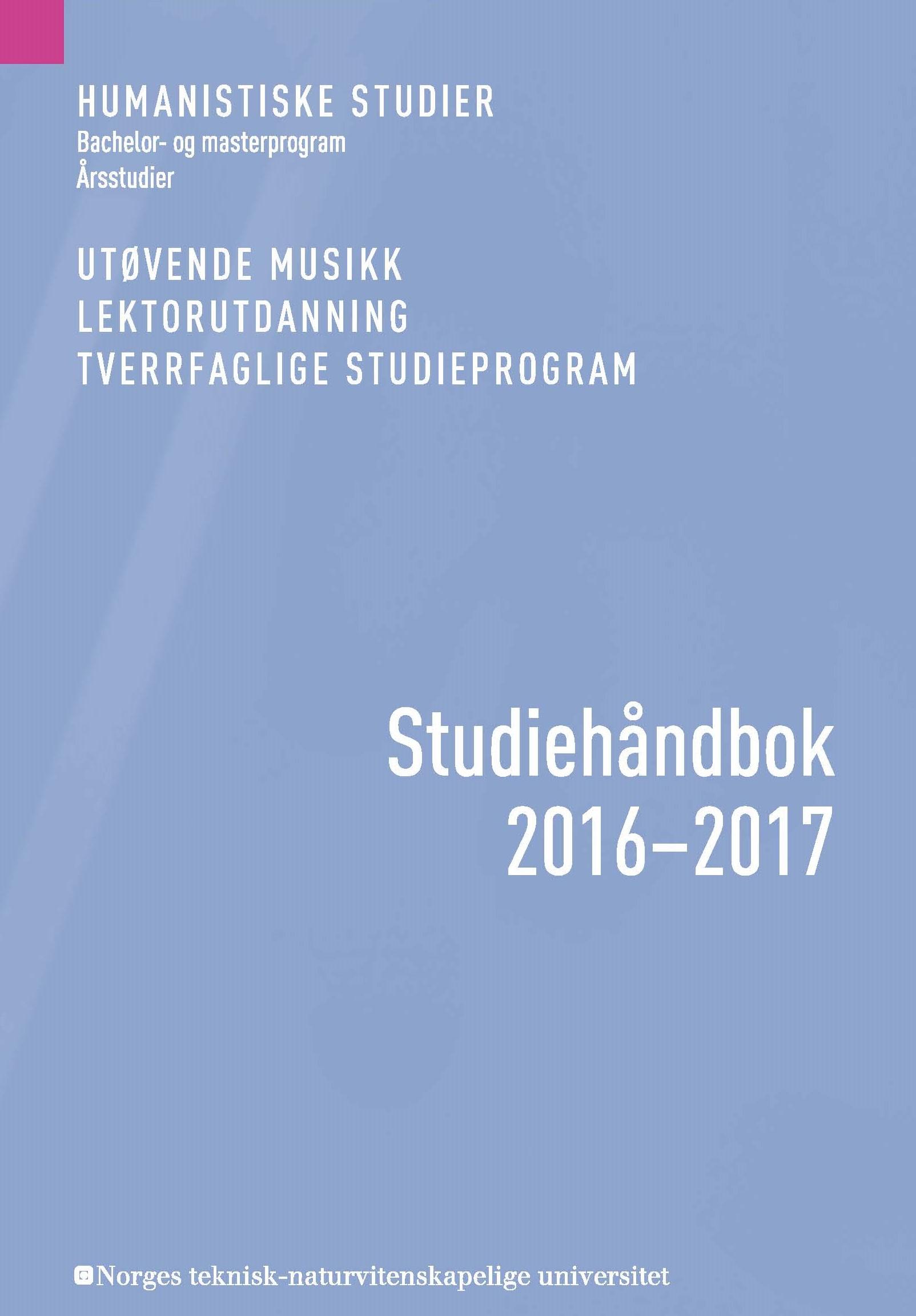 Studiehåndbok HF