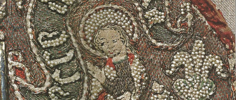Middelaldertekstiler. Foto.