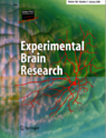 Bilde av journalen Experimental Brain Research