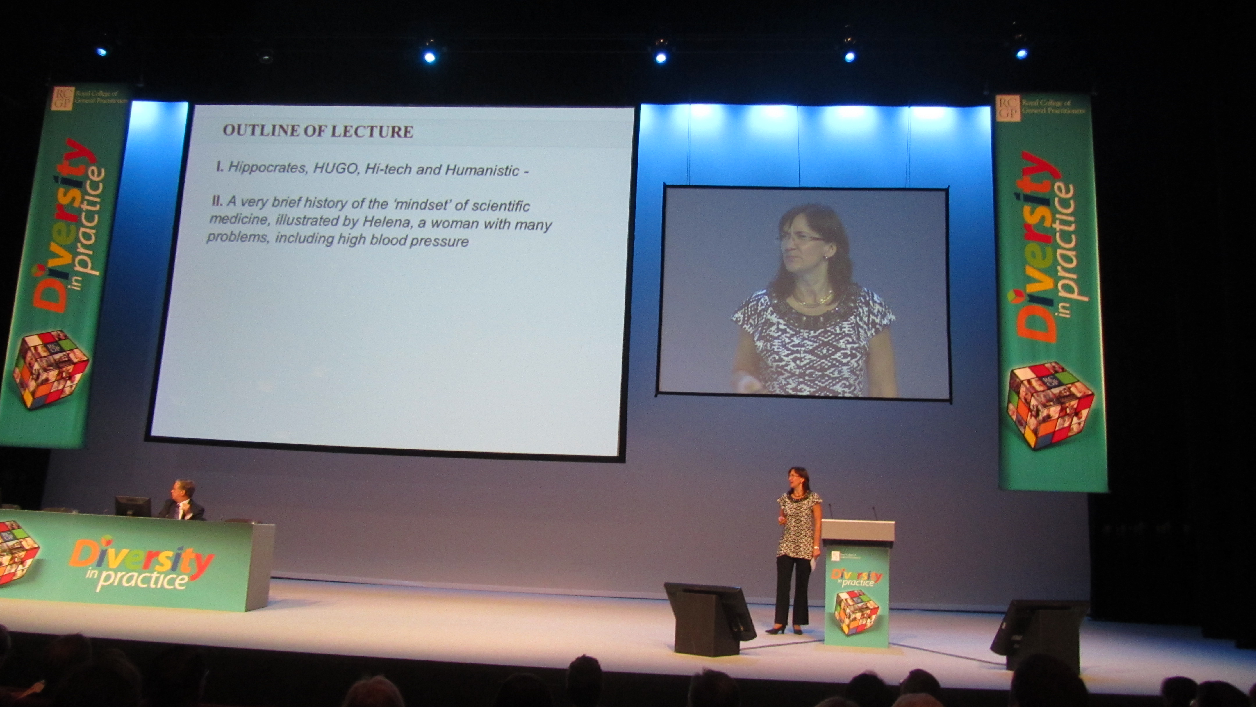 Linn Getz holder foredrag at Annual Primary Care Conference, Liverpool 2011